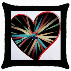 Above & Beyond Throw Pillow Case (Black)
