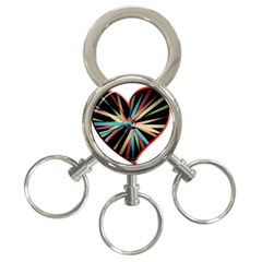 Above & Beyond 3-Ring Key Chains
