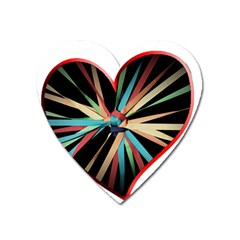 Above & Beyond Heart Magnet