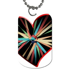 Above & Beyond Dog Tag (One Side)