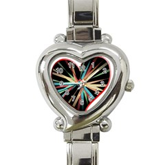 Above & Beyond Heart Italian Charm Watch