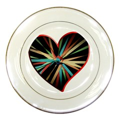 Above & Beyond Porcelain Plates