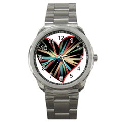 Above & Beyond Sport Metal Watch