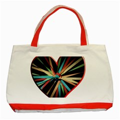 Above & Beyond Classic Tote Bag (Red)