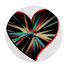 Above & Beyond Round Ornament (Two Sides)