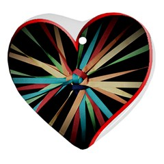 Above & Beyond Heart Ornament (Two Sides)