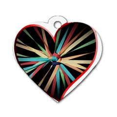 Above & Beyond Dog Tag Heart (Two Sides)