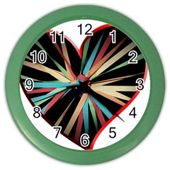 Above & Beyond Color Wall Clocks