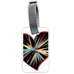 Above & Beyond Luggage Tags (One Side)
