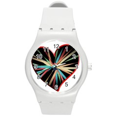 Above & Beyond Round Plastic Sport Watch (M)
