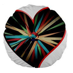 Above & Beyond Large 18  Premium Round Cushions