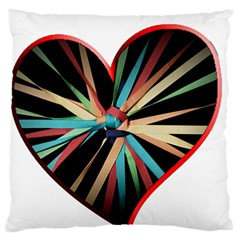 Above & Beyond Large Flano Cushion Case (one Side)