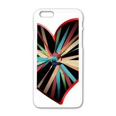 Above & Beyond Apple iPhone 6/6S White Enamel Case