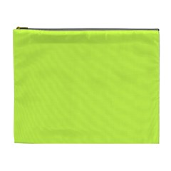 Neon Color - Light Brilliant Lime Green Cosmetic Bag (XL)