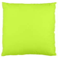 Neon Color - Light Brilliant Lime Green Large Cushion Case (One Side)