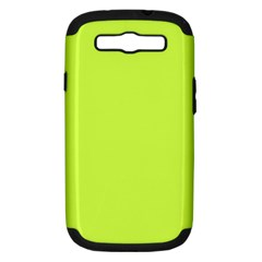 Neon Color - Light Brilliant Lime Green Samsung Galaxy S III Hardshell Case (PC+Silicone)