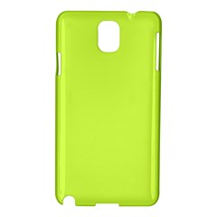 Neon Color - Light Brilliant Lime Green Samsung Galaxy Note 3 N9005 Hardshell Case