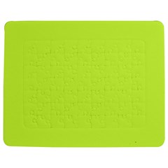 Neon Color - Light Brilliant Lime Green Jigsaw Puzzle Photo Stand (Rectangular)