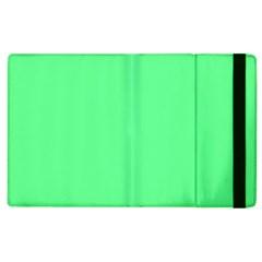 Neon Color - Light Brilliant Malachite Green Apple iPad 3/4 Flip Case