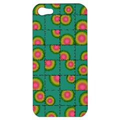 Tiled Circular Gradients Apple iPhone 5 Hardshell Case
