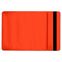 Neon Color - Light Brilliant Scarlet iPad Air Flip