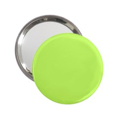 Neon Color - Light Brilliant Spring Bud 2.25  Handbag Mirrors