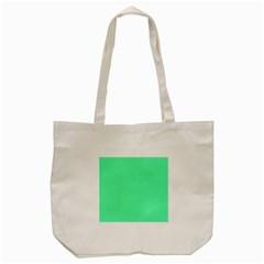 Neon Color - Light Brilliant Spring Green Tote Bag (Cream)