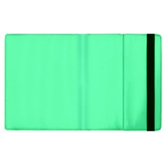 Neon Color - Light Brilliant Spring Green Apple iPad 2 Flip Case