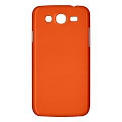 Neon Color - Light Brilliant Vermilion Samsung Galaxy Mega 5.8 I9152 Hardshell Case