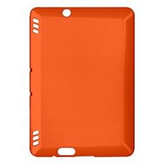 Neon Color - Light Brilliant Vermilion Kindle Fire HDX Hardshell Case