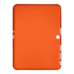 Neon Color - Light Brilliant Vermilion Samsung Galaxy Tab 4 (10.1 ) Hardshell Case