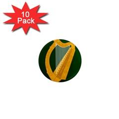 Flag of Leinster 1  Mini Magnet (10 pack)