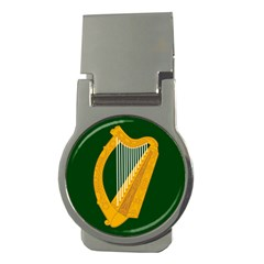 Flag of Leinster Money Clips (Round)