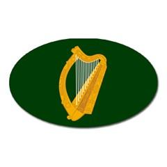 Flag of Leinster Oval Magnet