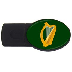 Flag of Leinster USB Flash Drive Oval (2 GB)