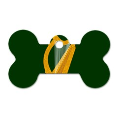 Flag of Leinster Dog Tag Bone (Two Sides)