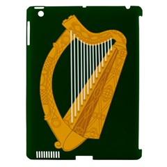 Flag of Leinster Apple iPad 3/4 Hardshell Case (Compatible with Smart Cover)