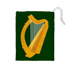 Flag of Leinster Drawstring Pouches (Large)