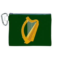 Flag of Leinster Canvas Cosmetic Bag (XL)