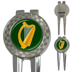 Flag of Leinster 3-in-1 Golf Divots