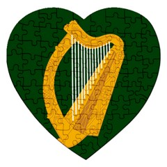 Flag of Leinster Jigsaw Puzzle (Heart)