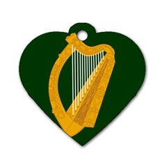 Flag of Leinster Dog Tag Heart (One Side)