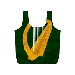 Flag of Leinster Full Print Recycle Bags (S)