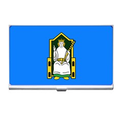 Flag Of Mide Business Card Holders
