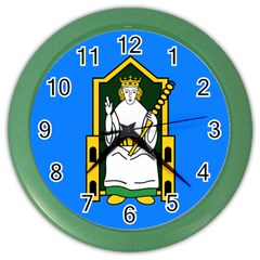 Flag Of Mide Color Wall Clocks