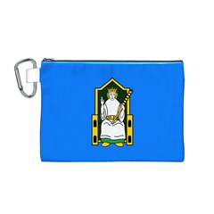 Flag Of Mide Canvas Cosmetic Bag (M)