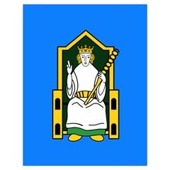 Flag Of Mide Drawstring Bag (Large)