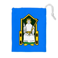 Flag Of Mide Drawstring Pouches (Extra Large)