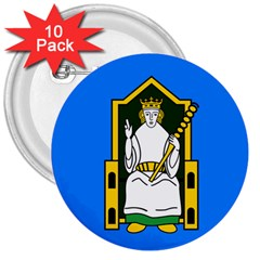 Flag of Mide 3  Buttons (10 pack)