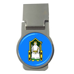 Flag of Mide Money Clips (Round)